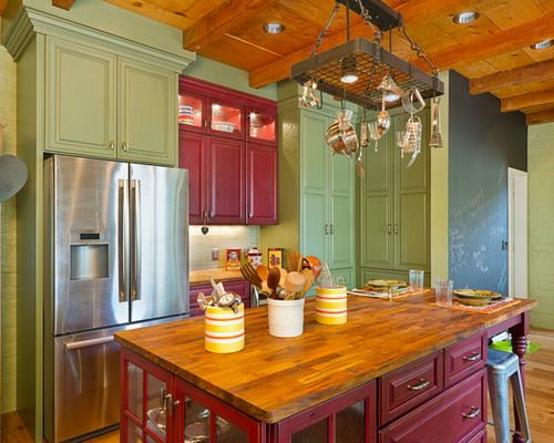 Country Paint Colors for Kitchens | Decorative Color for Country .