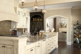 Kitchens With Cream Colored Cabinets Design, Pictures, Remodel .
