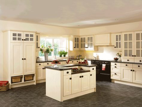 Kitchen Paint Colors with Cream Cabinets | Best kitchen cabinets .