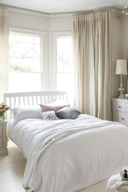 Bedroom ideas | Bedroom window design, Bedroom layouts, Serene bedro