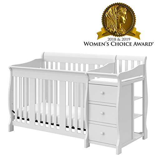 White Cribs with Changing Table: Amazon.c