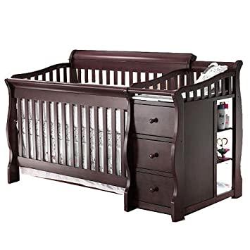 Amazon.com : Sorelle Princeton 4-in-1 Convertible Crib & Changer .