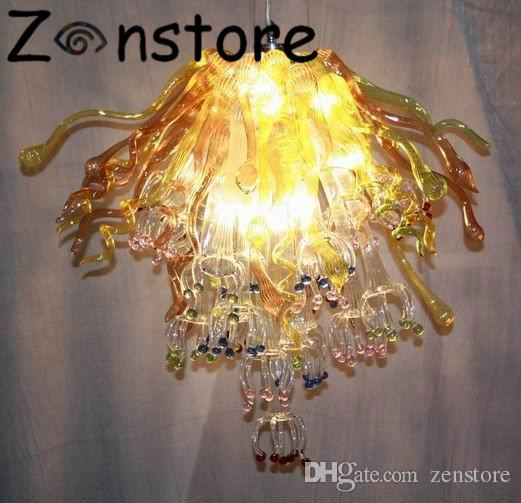 Sunshine Leave Chandelier Table Top Bar Decor Glass Art Crystal .