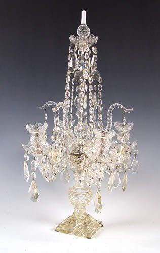 Crystal Chandelier Table Top Lamps