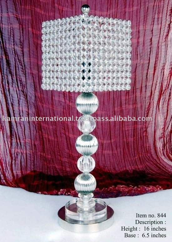 Acrylic Ball Designed Modern Table Lamp With Crystal Shade - Buy .