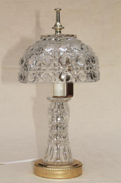 crystal lamp shades for table lamps
