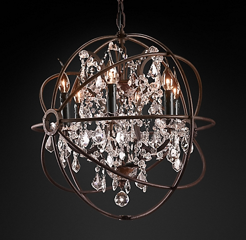 Foucault's Orb Crystal Chandelier Collection |