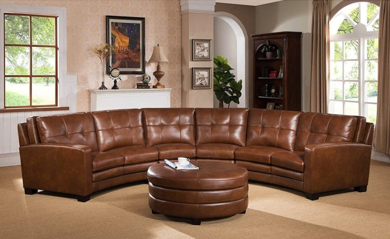 20 Awesome Curved Leather Sectional Sofa - The Urban Interi
