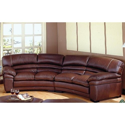 curved sectional sofa recliner - Google Search | Curved couch .