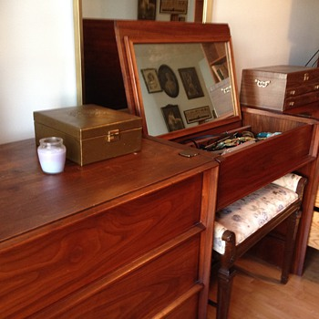John Widdicomb Grand Rapids Danish Modern Bedroom Furniture .