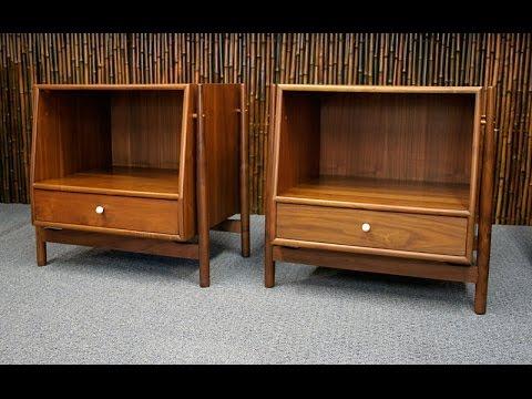 Vintage Mid Century Modern Bedroom Furniture - YouTu