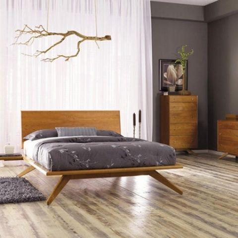 28 Simple And Elegant Mid-Century Modern Beds | Mid century modern .