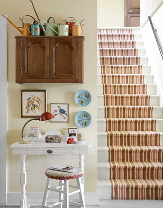 Decorating Ideas For Hallways And Stairs | Designs For Ho