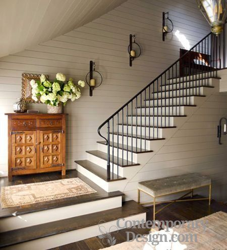 Hall stairs and landing decorating ideas | Stairway decorating .