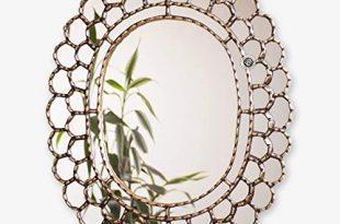 """Amazon.com: Decorative Oval Wall Mirror 23.6""""- Peruvian Accent ."""