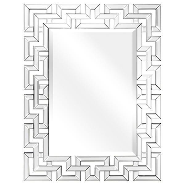 Shop Elegant Beveled Decorative Wall Mirror,Bathroom,Bedroom .