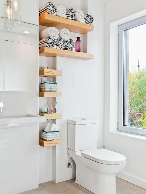 15 Small Wall Shelves to Make Bathroom Design Functional and Beautif