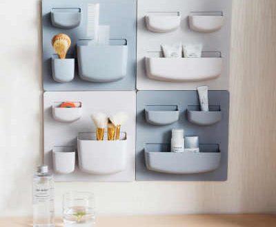 2PCS/Set Ceative Decorative Wall Shelf Wall Hook 3M Glue Sticky .