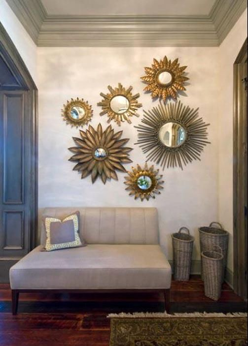 Using Sunburst Mirrors in Your Home Decor | Interior design .