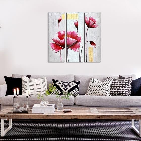Shop Framed canvas modern living room bedroom background wall .