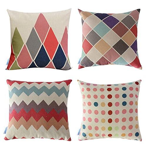 Colorful Throw Pillows: Amazon.c