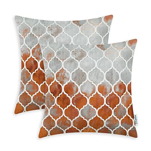 Warm Colors Pillow Covers Decorative: Amazon.c