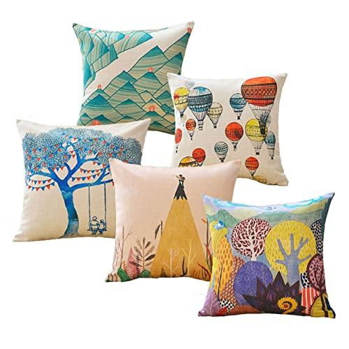 Decorative Sofa Pillows Colorful