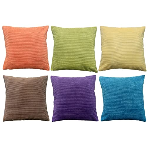 Colorful Throw Pillows for Couch: Amazon.c