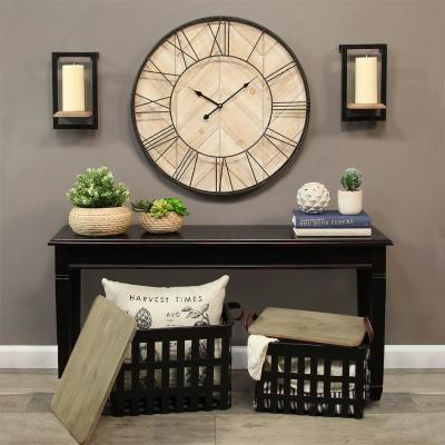 Stratton Home Decor Sam Wall Clock S16064 - The Home Dep