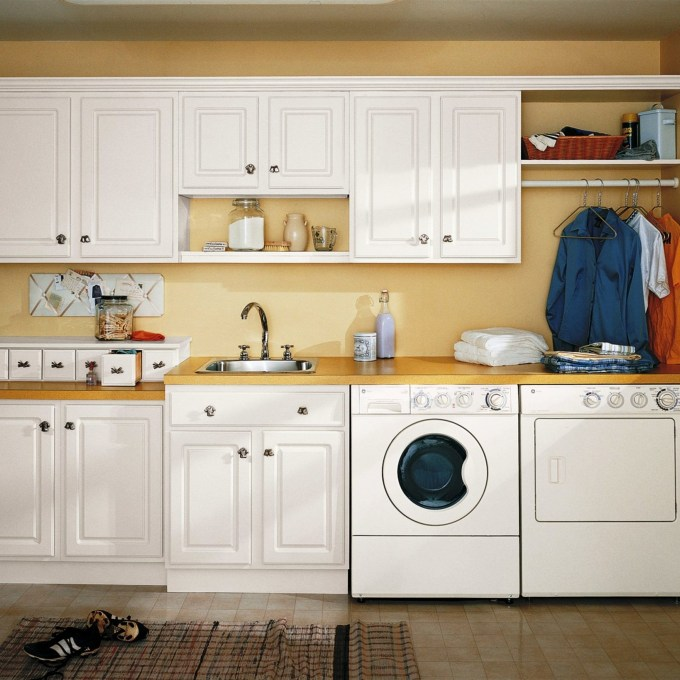 22 22 Laundry Tubs With Cabinets, Bakers Rack Forest Green Metal .