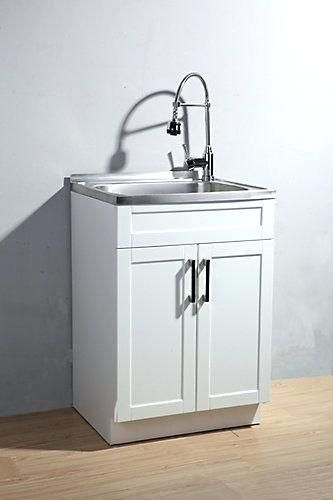 Laundry Cabinet And Sink This Utility Laundry Sink With Cabinet .