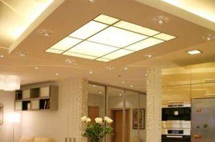 Designer Overhead Kitchen Light Fixtures | Kitchen | False ceiling .