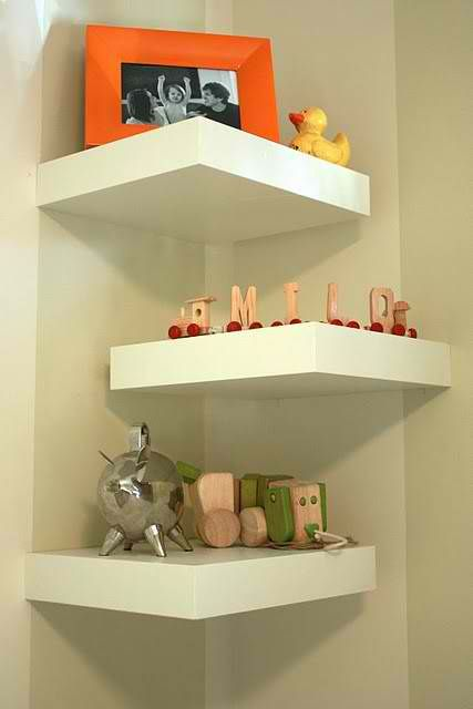 14 Best Corner Shelf Designs | Ikea lack shelves, Diy corner shelf .