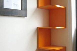 10 creative wall shelf design ideas | Space saving ideas for home .