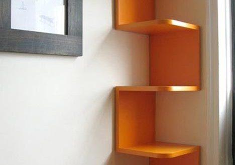 10 creative wall shelf design ideas   Space saving ideas for home .