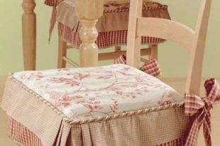 Dining Chairs Cushions with ties (With images) | Dining room chair .
