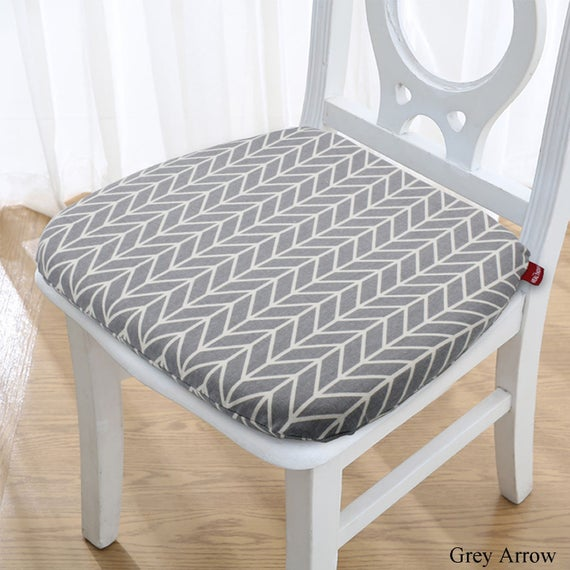 Dining Chair Cushion with Ties Memory Foam Seat Cushion for | Et