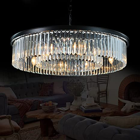 Meelighting Crystal Chandeliers Modern Contemporary Ceiling Lights .