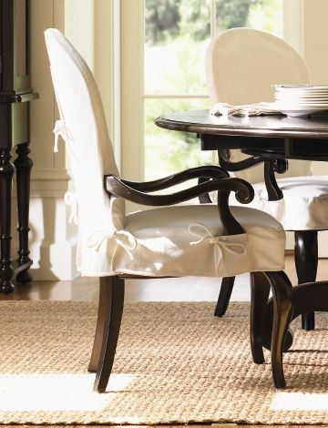 Brilliant Dining Room Armchair Slipcover Chair Cover With Arm .