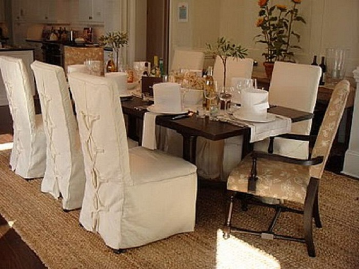 Contemporary Dining Room Chair Cover With Arm Kitchen Back .