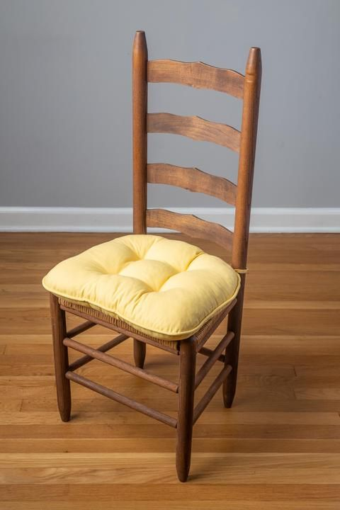 Cotton Duck Extra-Thick Chair Pad (4 Tack, Welted)   Dining chair .
