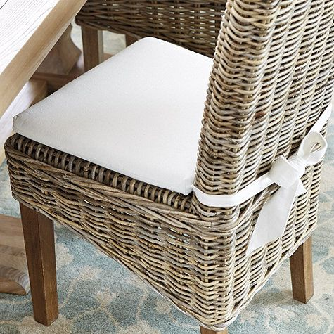 Rosalind Replacement Cushion   Kitchen chair cushions, Wicker .