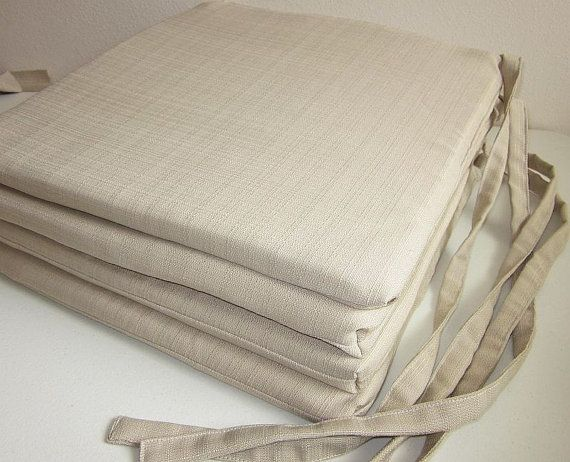 Chair Seat Cushion Covers Set of 4 Richloom by DesignerPillows4U .