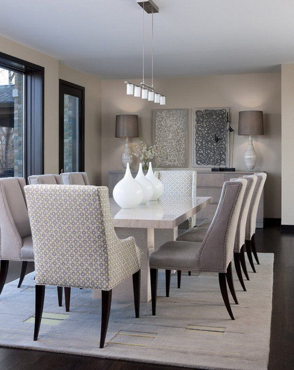 21 Captivating Contemporary Dining Room Designs | Beautiful dining .