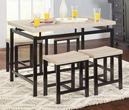 Amazon.com : Dinette Sets For Small Spaces-Dinning Room Table Set .