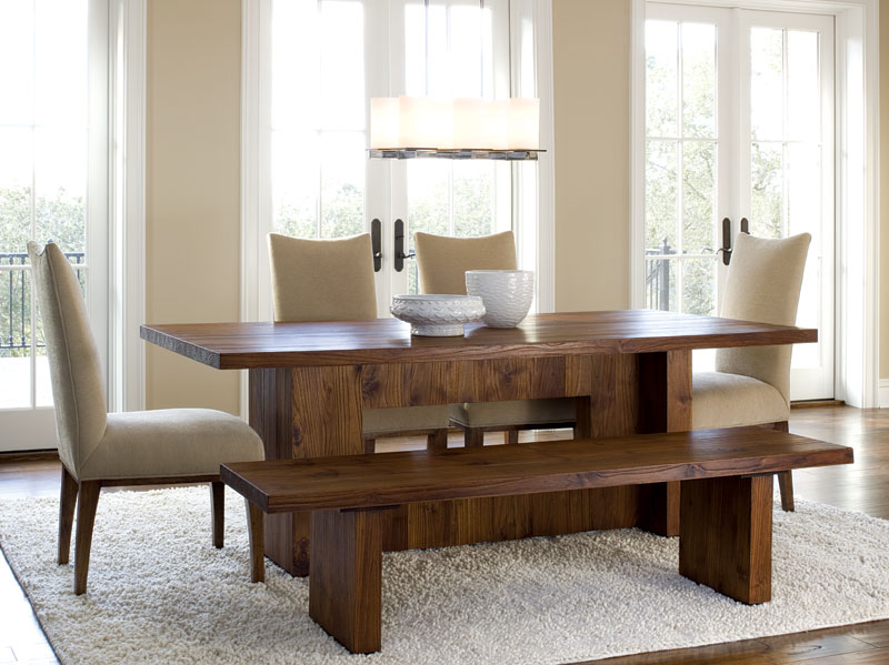 dining room sets with bench seating | Dining Chairs Design Ideas .