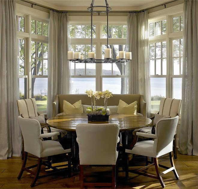 Dining Room Inspiration Featuring Round Dining Tables | Laurel Be