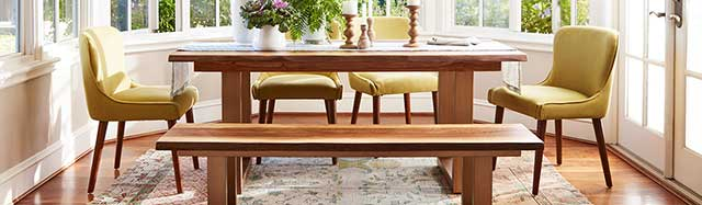 Add Elegance to a Room With Unique Dining Tables for Small Spaces .