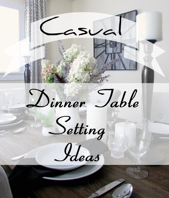 Dinner Time Table Setting | Rustic & Refin