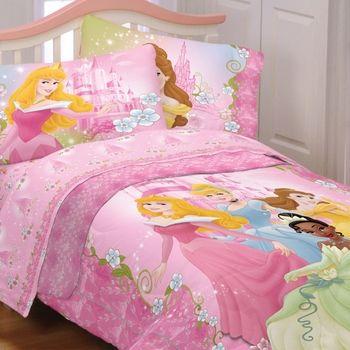 DISNEY PRINCESS Bedding-Dainty Princess Girls Bedding | Princess .